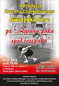 Gwiazdka Serc 2016 - plakat A3